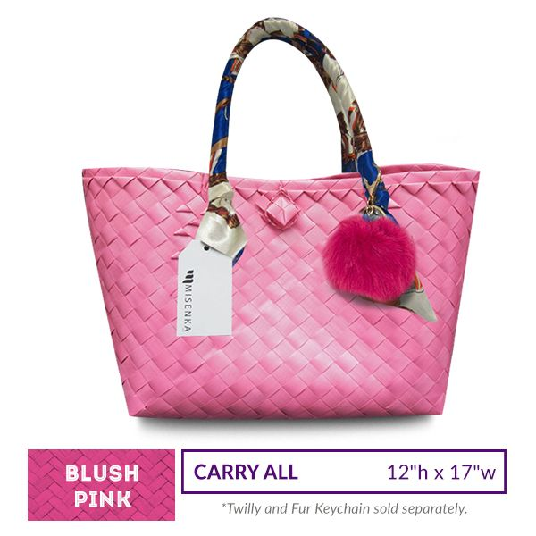 Misenka Blush Pink Carry All