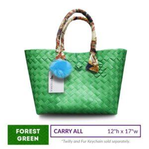 Misenka Forest Green Carry All