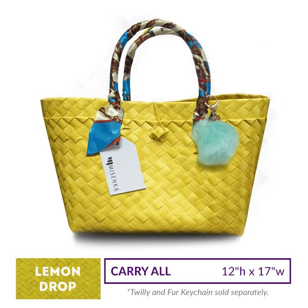 Misenka Lemon Drop Carry All