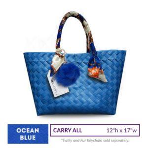 Misenka Ocean Blue Carry All