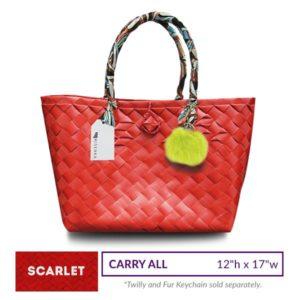 Misenka Scarlet Carry All