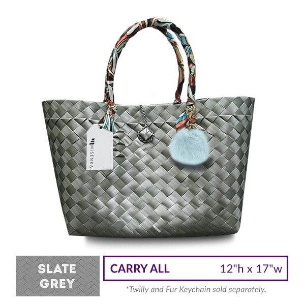 Misenka Slate Grey Carry All