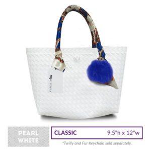 Misenka Pearl White Classic