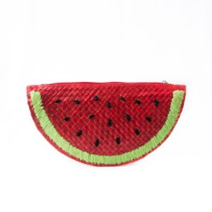Misenka Watermelon Slice Clutch