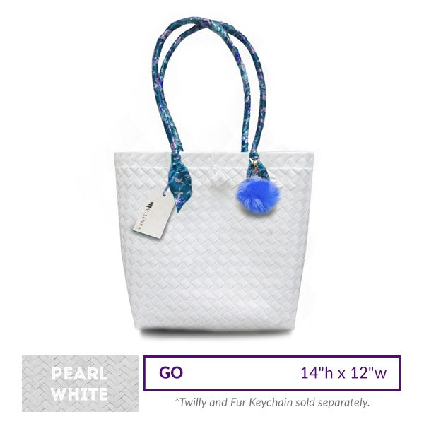 Misenka Pearl White Go