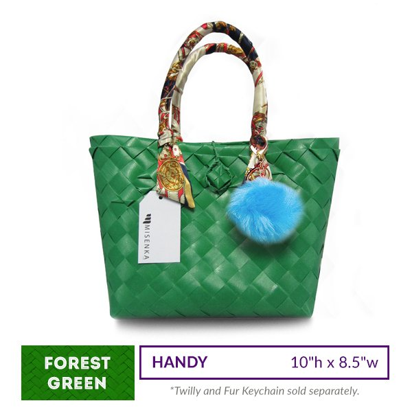 Misenka Forest Green Handy