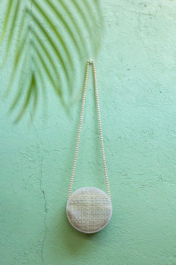 Misenka Natural Summer Bilog Bag