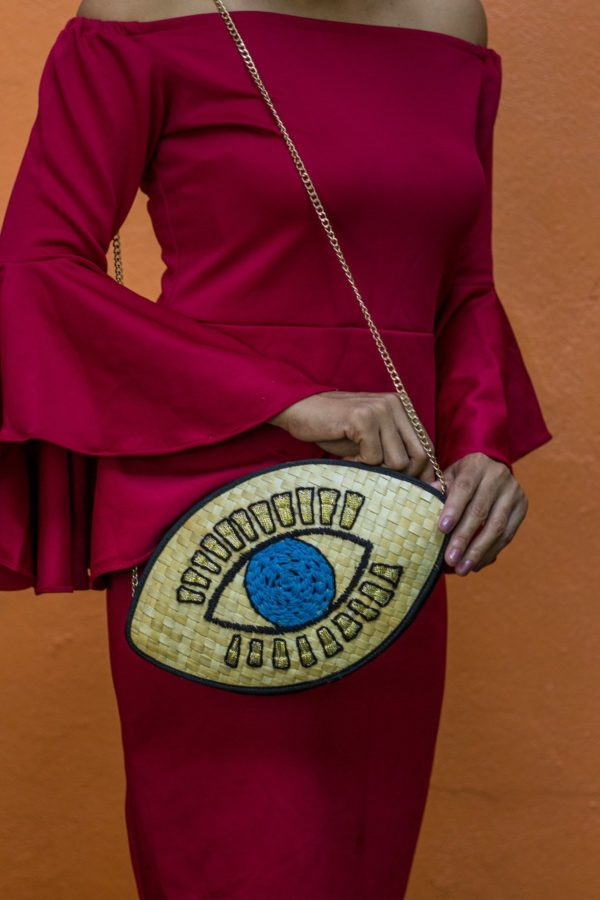 Misenka The Evil Eye Shoulder Bag