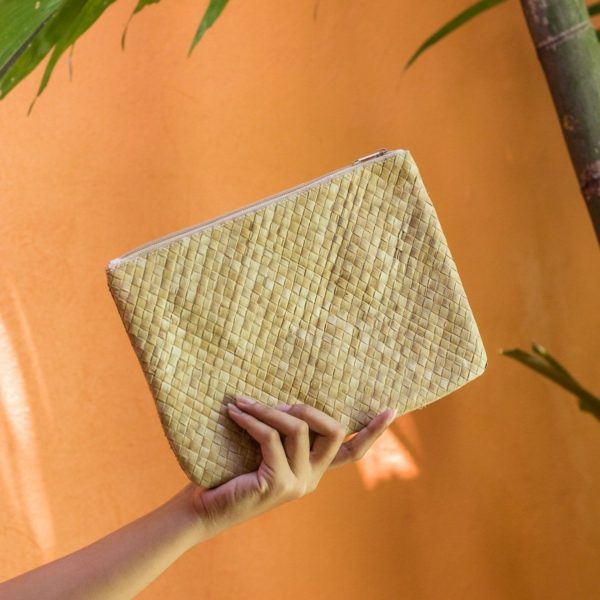 Misenka Natural Summer Quadrado Bag