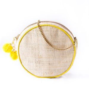 Misenka Lemon Shoulder Bag