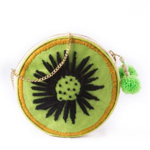 Misenka Kiwi Shoulder Bag