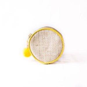 Misenka Lemon Zest Coin Purse