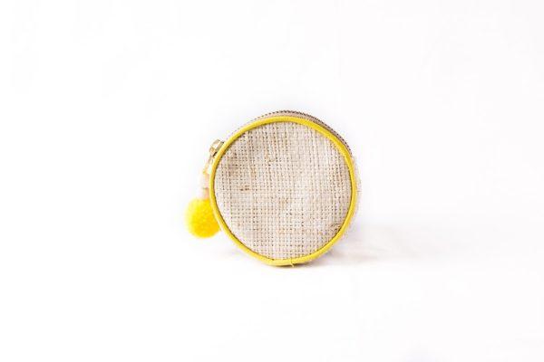 Misenka Lemon Zest Coin Purse