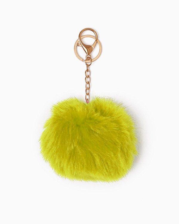 Misenka Lemon Drop Fur Charm