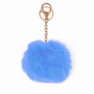Misenka Powder Blue Fur Charm