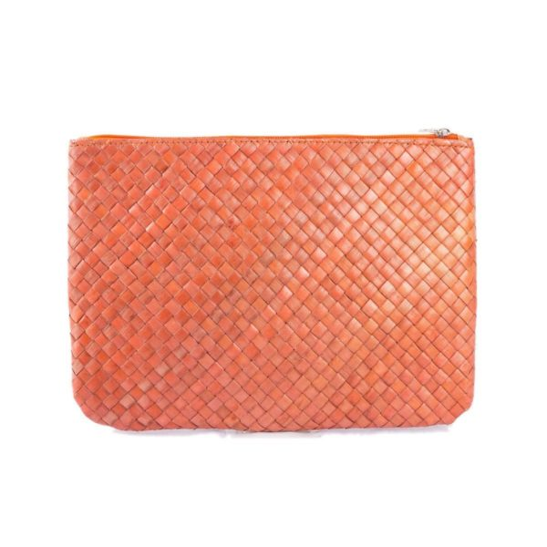 Misenka Orange Summer Quadrado Bag