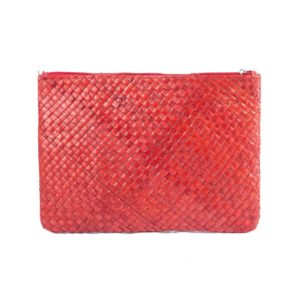 Misenka Red Summer Quadrado Bag