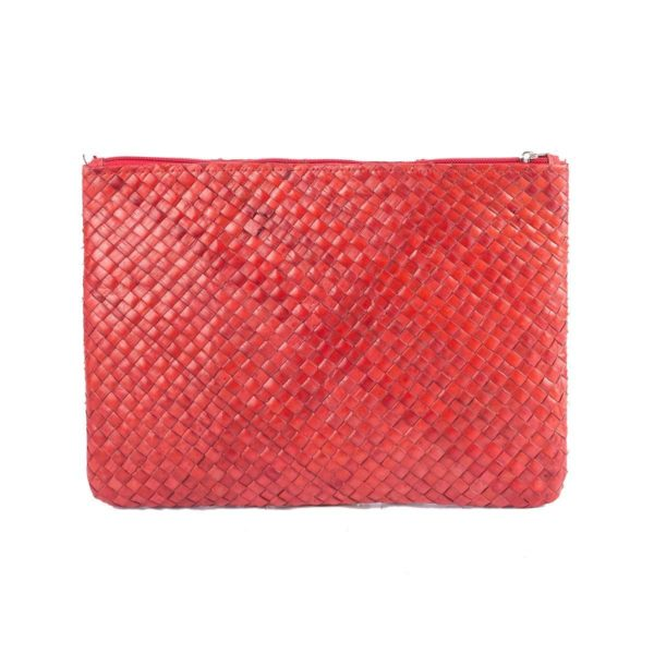 Misenka Red Summer Quadrado Bag