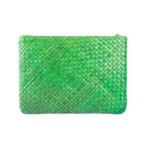 Misenka Green Summer Quadrado Bag