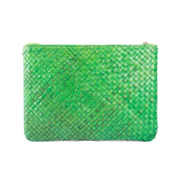 Misenka Green Summer Quadrado Bag