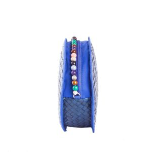 Misenka Blue Summer Bilog Bag